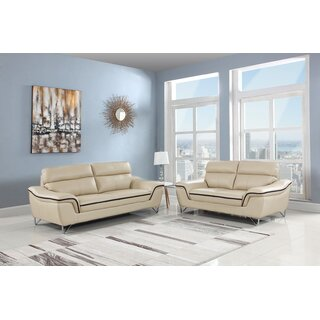 2 Piece Living Room Set by Orren Ellis SKU:DC333636 Buy