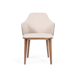 Bostrom Modern Beige & Grey Dining Chair by Corrigan Studio Savings