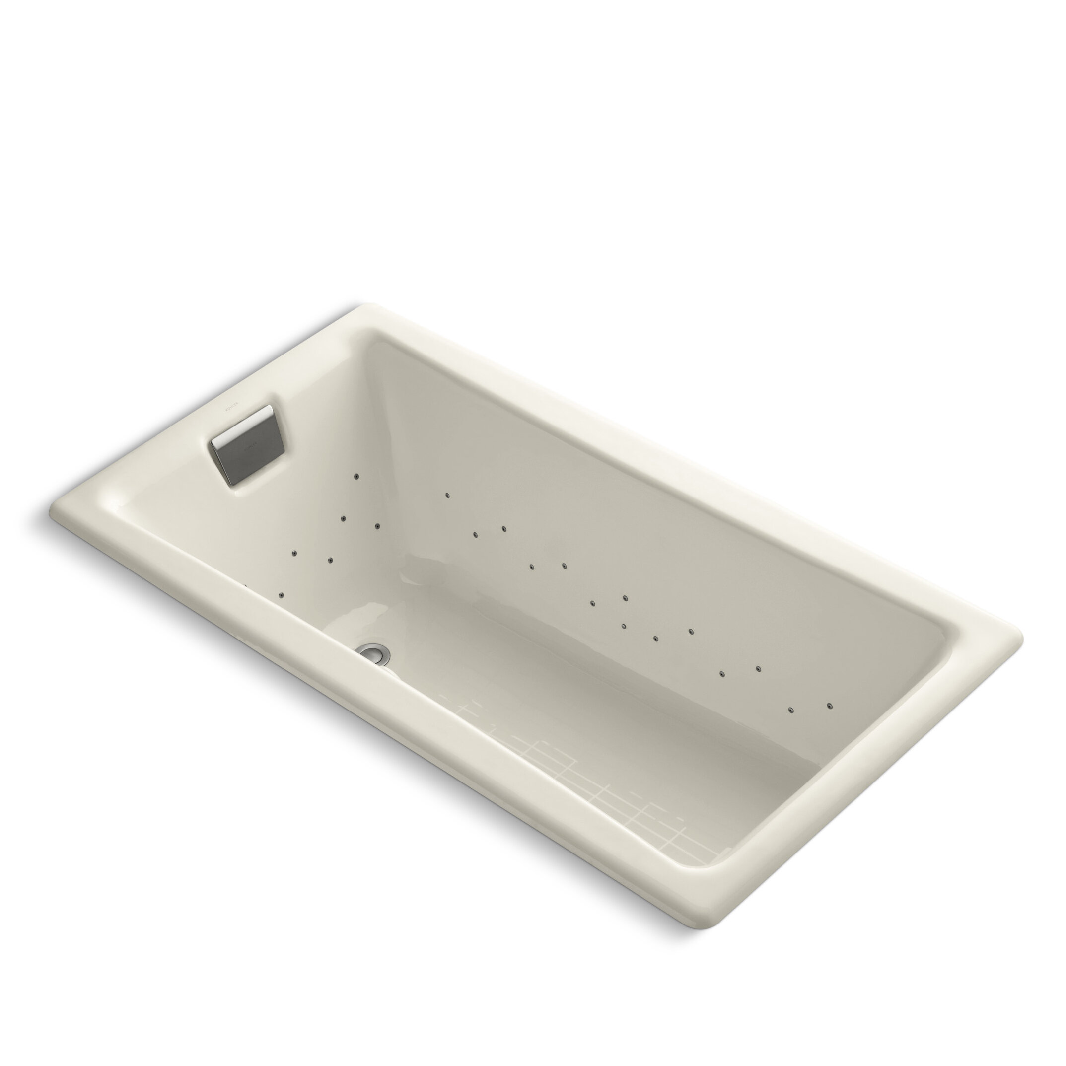 Kohler Tea For Two 60 X 32 Undermount Air Bathtub Wayfair