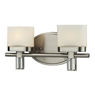 Ebern Designs Lakey 2-Light Vanity Light