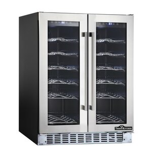 36 Bottle Dual Zone Built-In Wine Cooler