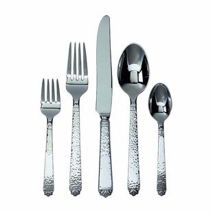 Oakleaf 5 Piece Flatware Set, Service for 1
