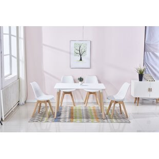 Berkowitz 5 Piece Dining Set by George Oliver