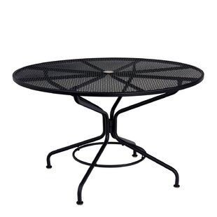 Woodard Mesh Top Dining Ta..
