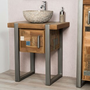 Alloway 70mm Free-standing Single Vanity Unit By Williston Forge