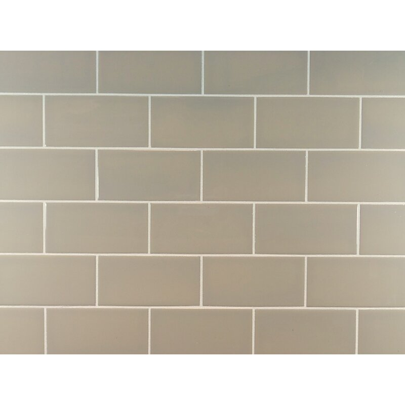 Mulia Tile Clic 3 X 6 Ceramic Subway In Light Taupe Reviews Wayfair