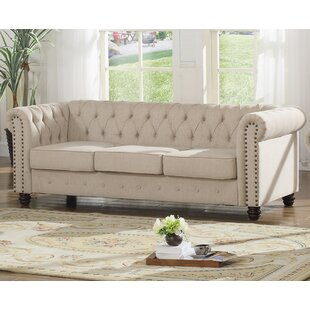 Altman Fabric Modern Living Room Sofa by Alcott Hill