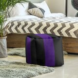 13 Velvet Square Pouf Ottoman by East Urban Home
