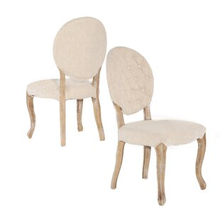 Aletha Upholstered Dining Chair (Set of 2) Lark Manor