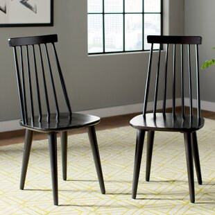 Arikara Solid Wood Dining Chair (Set Of 2) By Brambly Cottage