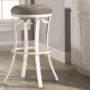 Karsten Round Swivel Bar Stool Loon Peak