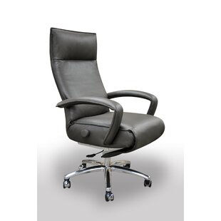 Gaga Leather Executive Chair By Lafer