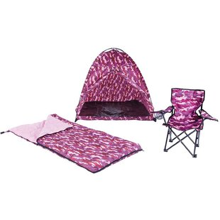 Pacific Play Tents Camo 3 Piece Play Tent Set