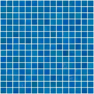 Review Architect's Overstock 0.75 x 0.75 Glass Mosaic Tile in Turquoise Blue by Susan Jablon
