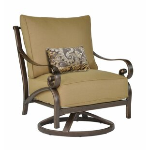 Veracruz Swivel Rocking Chair With Cushion by Leona Great price