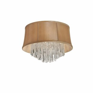 Willa Arlo Interiors Deston Modern 3-Light Flush Mount