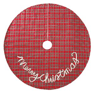 tartan plaid christmas tree skirt - Christmas Tree Skirt