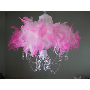 Sassy and Classy 3-Light Novelty Chandelier by Silly Bear Lighting