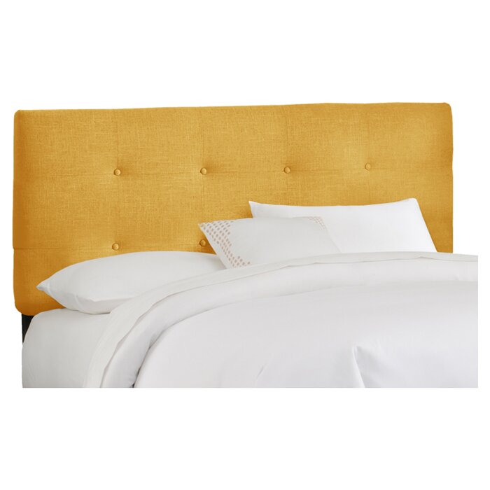 headboard upholstered furniture impressive mherger chesterfield tufted faux and with diy bedrooms