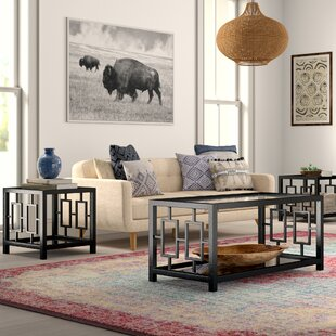 Hauge 3 Piece Coffee Table Set