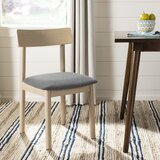 Lucca Side Chair in Light Brown (Set of 2) by Mistana