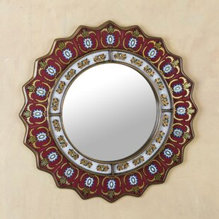 be425a126297 Ruby Medallion Modern   Contemporary Wall Mirror