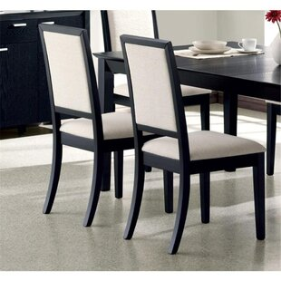 Bucareli Upholstered Dining Chair (Set of 2) Latitude Run