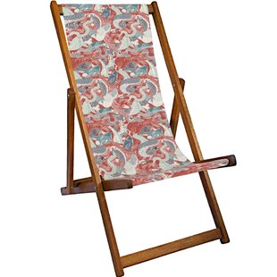 Rosalie Reclining Deck Chair By Sol 72 Outdoor