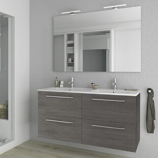 Slossberg 1200mm Wall Hung Double Vanity Unit By Belfry Bathroom