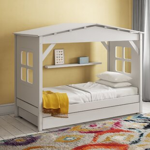 Ethridge Single House Bed With Trundle By Zoomie Kids