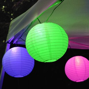 30 ft. 10-Light Lantern String Lights