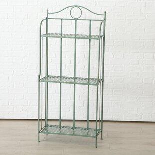 Bear 3 Shelf Corner Iron Baker's Rack by Ophelia & Co.