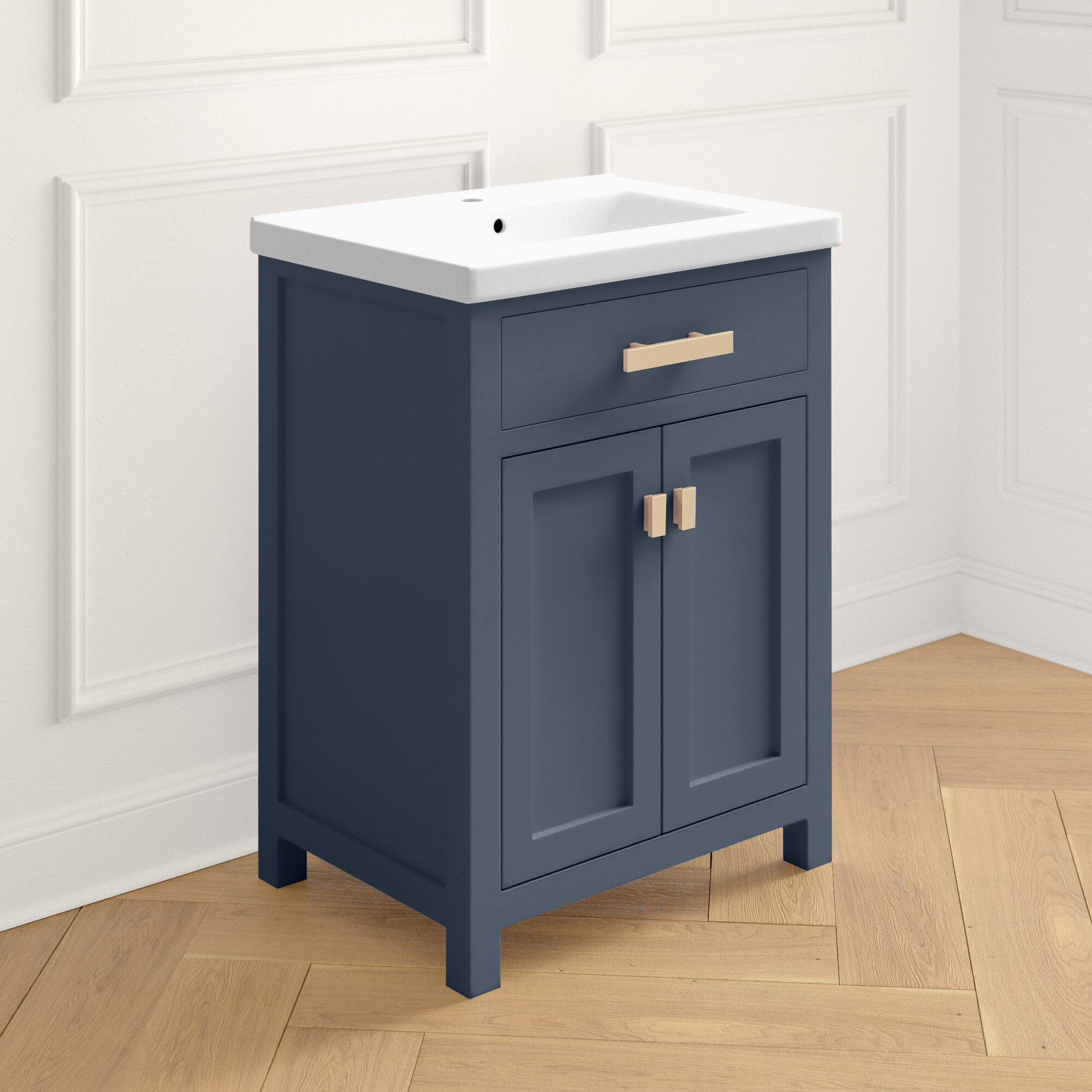 Joss Main Knighten 24 Single Bathroom Vanity Set Reviews Wayfair