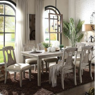Denman 7 Pieces Dining Set Gracie Oaks