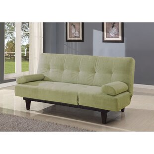 Winston Porter Propst Microfiber Sleeper Sofa