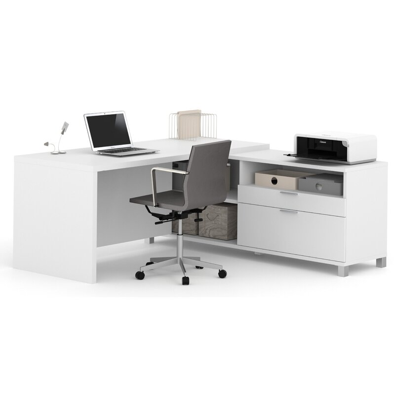Pleasing Heyworth Reversible L Shape Executive Desk Home Interior And Landscaping Synyenasavecom