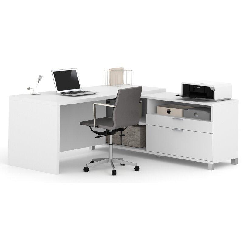 Terrific Heyworth Reversible L Shape Executive Desk Interior Design Ideas Inesswwsoteloinfo