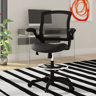 Hirst Mesh Drafting Chair by Zipcode Design