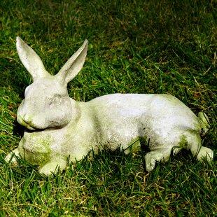 Bon Garden Décor Field Rabbit Statue