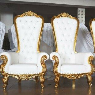 Kyrie King Throne Club Chair & King Throne Chair   Wayfair
