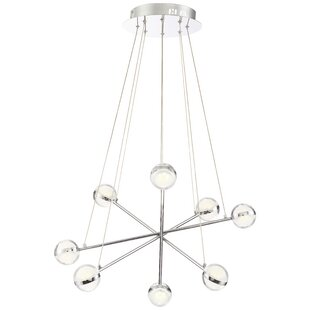 Brayden Studio Mya Modern 8-Light LED Chandelier