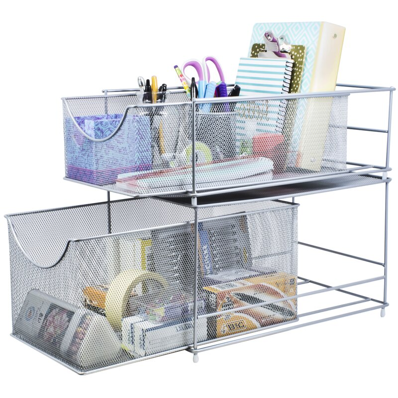 2 Drawer Shelving Rack
