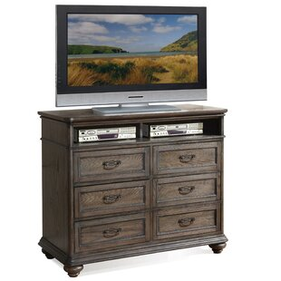 Three Posts Nesbitt 6 Drawer Media Chest