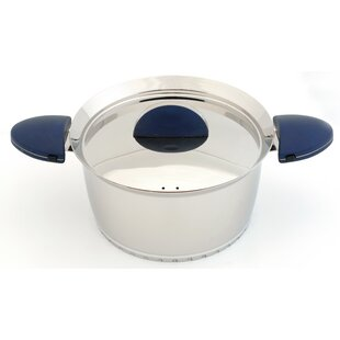 Stacca Stainless Steel Stock Pot with Lid