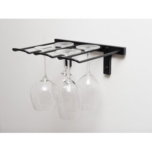 Stemware Wall Mounted Wine Glass Rack by ..