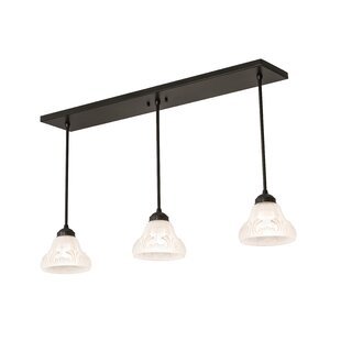 August Grove Mosteller 3-Light Kitchen Island Pendant