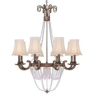 Classic Lighting Grace 8-Light Shaded Chandelier