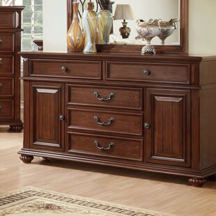 Hokku Designs Lorrenzia 5 Drawer Combo Dresser