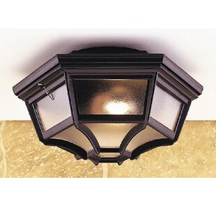 Keiran 1 Light Outdoor Flush Mount By Marlow Home Co.