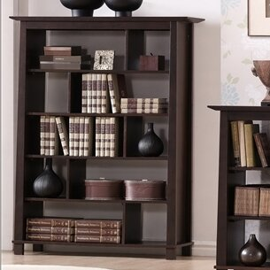 Havana Geometric Bookcase by Wholesale Interiors Great Reviews